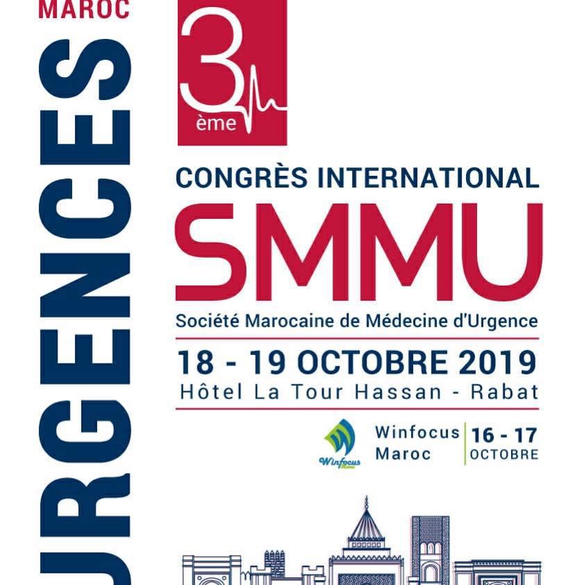 3ème Congrès SMMU - WINFOCUS-Maroc - Octobre 2019